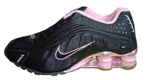 Nike Shox R4 Preto E Rosa